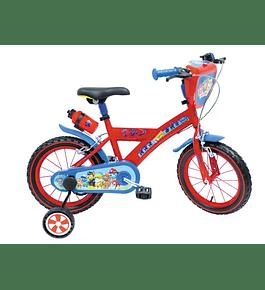 Bicicleta Patrulha Pata - 16 polegadas