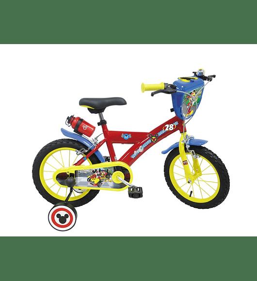 Bicicleta Mickey - 14 polegadas