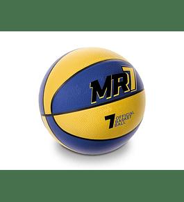 Bola de Basket - Amarela e Azul