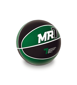 Bola de Basket - Preta e Verde