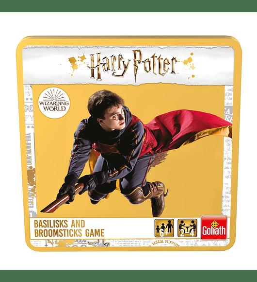Harry Potter - Caixa Metálica Basiliks & Broomsticks