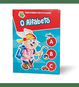 Vamos Aprender com Autocolantes - O Alfabeto