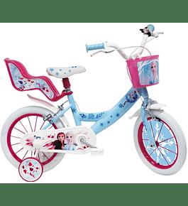 Bicicleta Frozen II - 16 polegadas
