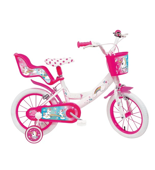 Bicicleta Unicórnio - 14 polegadas