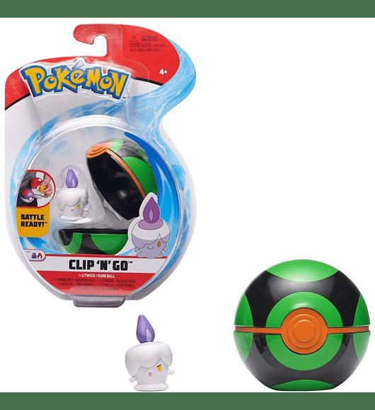 Clip N Go - Litwick + Dusk Ball