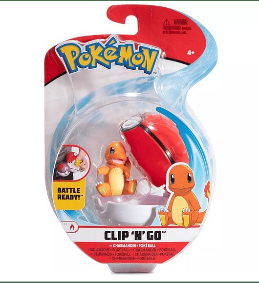 Clip N Go - Charmander + Poké Ball