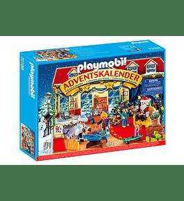 Calendário do Advento - Natal na Loja de Brinquedos