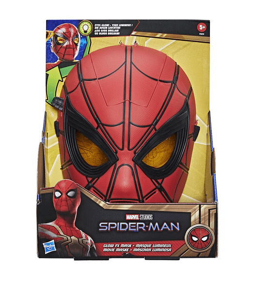 Máscara Luminosa - Spider-Man