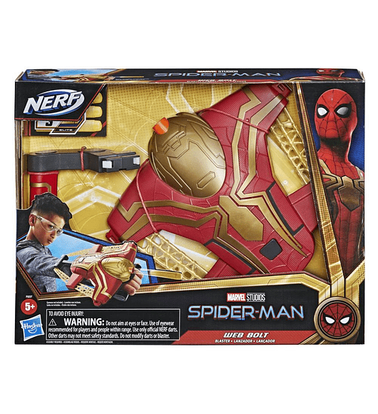 Lançador Spider-Man - Web Bolt