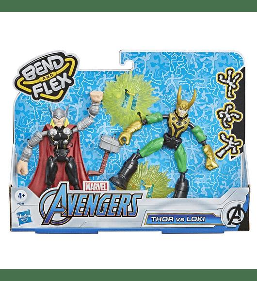 Bend and Flex - Thor vs Loki