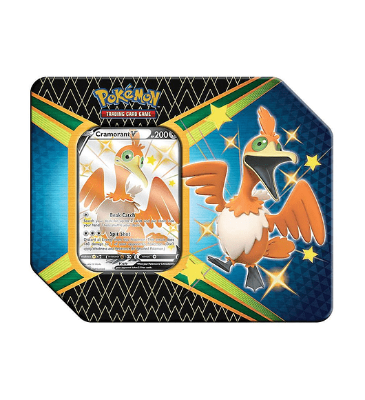 Pokémon - Lata Cramorant V Destinos Brilhantes