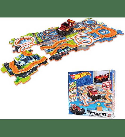 Hot Wheels -Tile Track Set
