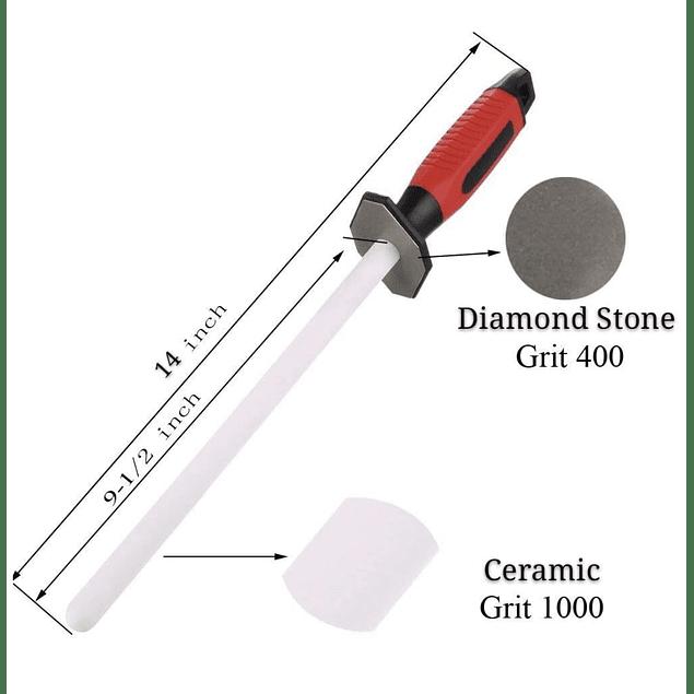 Astil cerámico 2 en 1 cerámico #1000 diamante #400