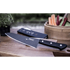 BF HB – 70, Chef's Knife (Black nonstick coating), 180mm blade long  Black Fluorine Coated Series
