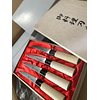 "SATAKE "" stainless steel wabocho"" steak knife set 4 pcs"