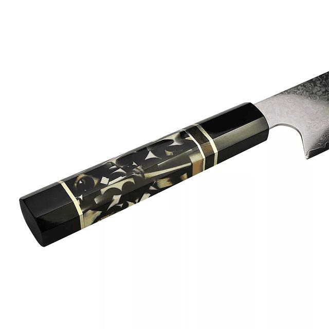 Kiritsuke DAMASCO VG-10 67 capas / mosaico negro
