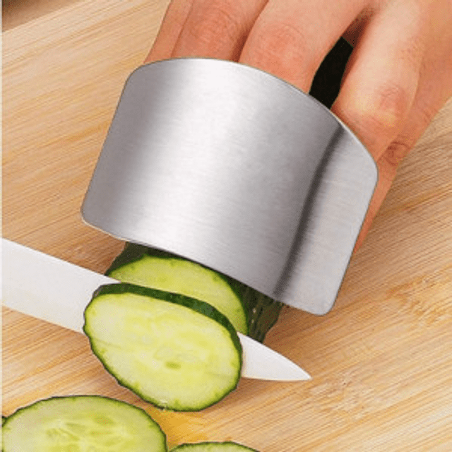 Protector de dedos para cortar