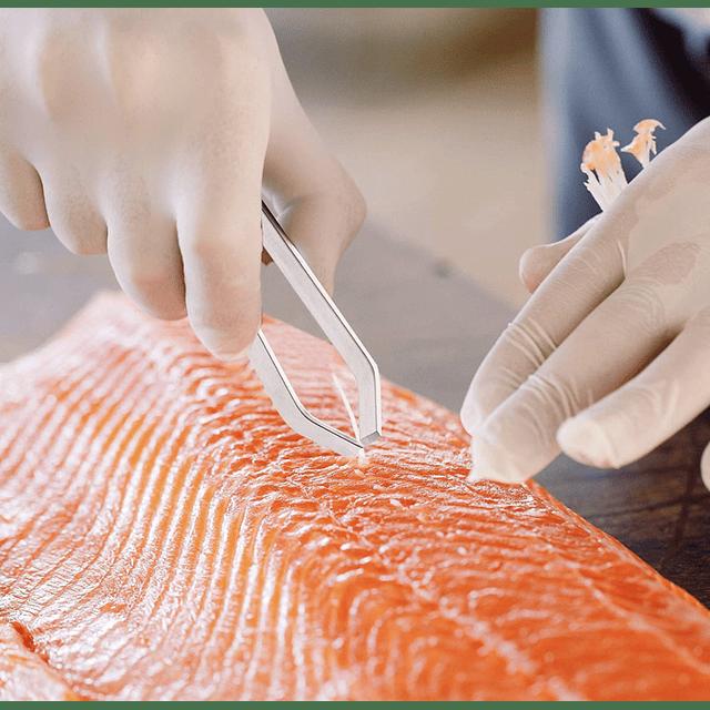 Pinzas para deshuesar o sacar espinas de pescado