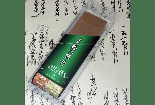 TOJIRO, Combination whetstone w/platform, #1000-3000,  (F-433)