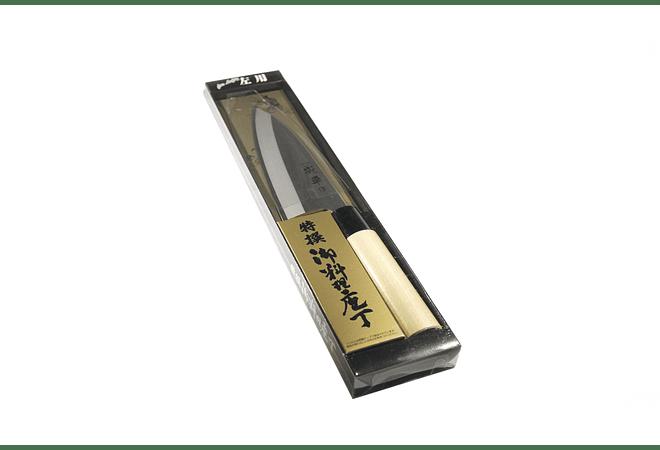 NARIHIRA #9000, Stainless Steel DEBA traditional, para zurdos, 150mm