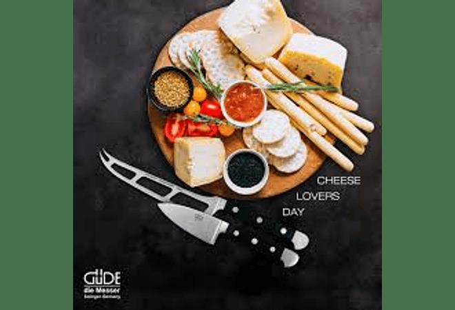 GÜDE, Alpha, cuchillo cortador de queso duro, 100mm,  1805/10
