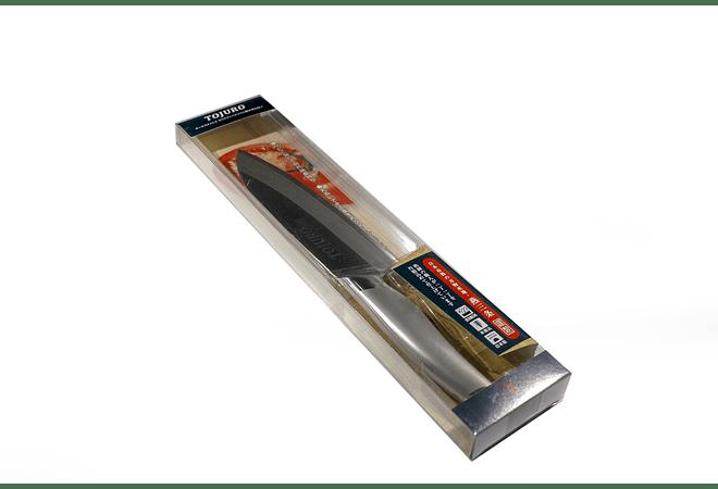 TOJURO All Stainless MoVa Clad steel SANTOKU 170mm (TJ-130)