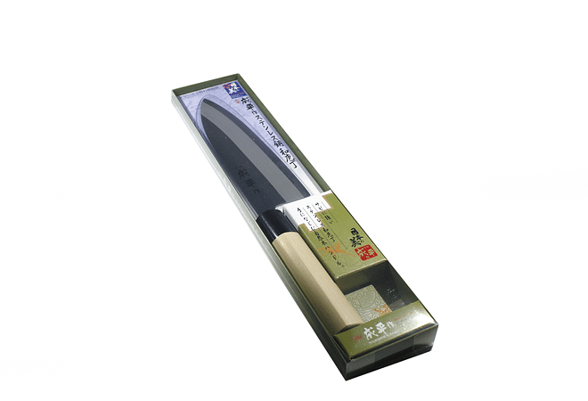 NARIHIRA #9000, Stainless Steel, SANTOKU traditional style,  165mm (FC-79)