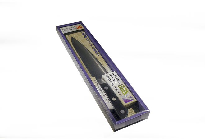 NARIHIRA #8000 MOLYBDENUM Steel With Bolster, CHEF, 180mm FC-42