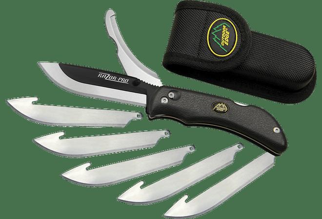Razor-Pro, Outdoor EDGE 2 blade razor/Gutting knife