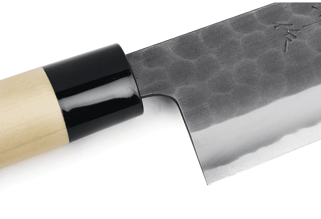 TOJIRO DP  Hammered Finish w/wood handle, CHEF, 240mm (F-1116)