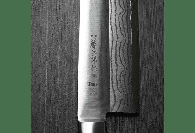 TOJIRO, DP series, Acero Damascus 37 capas, CHEF, 180mm (F-508/654)
