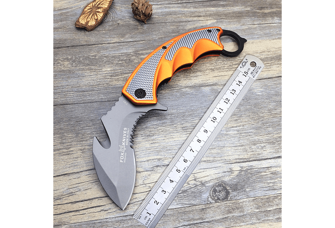 Fox Karambit Camping Hiking Survival Rescue Knife Military Utility