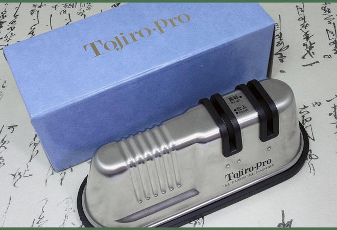 TOJIRO PRO Double Rolling Sharpener