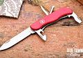 Victorinox ADVENTURER Multiherramienta con bloqueo corredizo 111mm Rojo