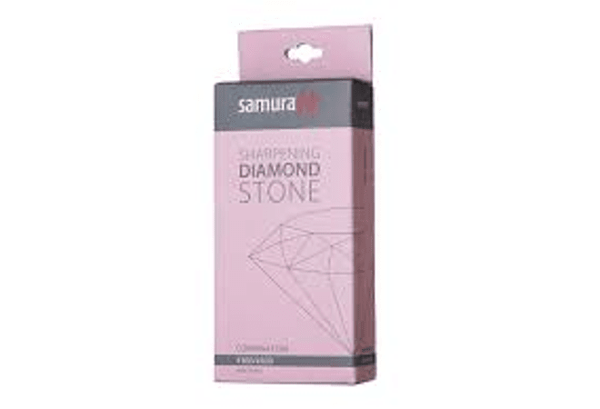 SAMURA, sharpening diamond stone w/platform, COMBINATION #360/600, SDS-360/M