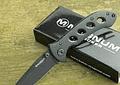Boker Magnum Shadow, folding pocket knife, acero negro