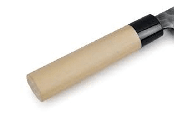 TOJIRO DP  Hammered Finish w/wood handle, CHEF, 210mm (F-1115)
