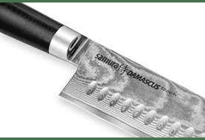 SAMURA DAMASCUS  SANTOKU KNIFE 180MM