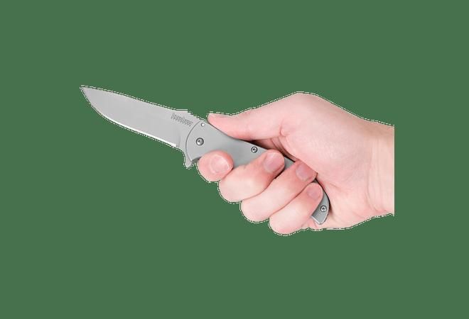 Kershaw VOLT SS hoja de 8,9 cm PLATEADO