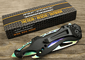 TAC FORCE, 705RB RAINBOW SPRING ASSISTED FOLDING KNIFE, 90mm