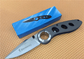 Browning Folding Knife Titanium Coated Blade Steel Handle Pocket Camping