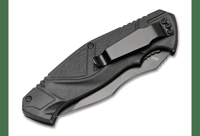 Boker Magnum advance all black pro 42 largo de hoja 8cm