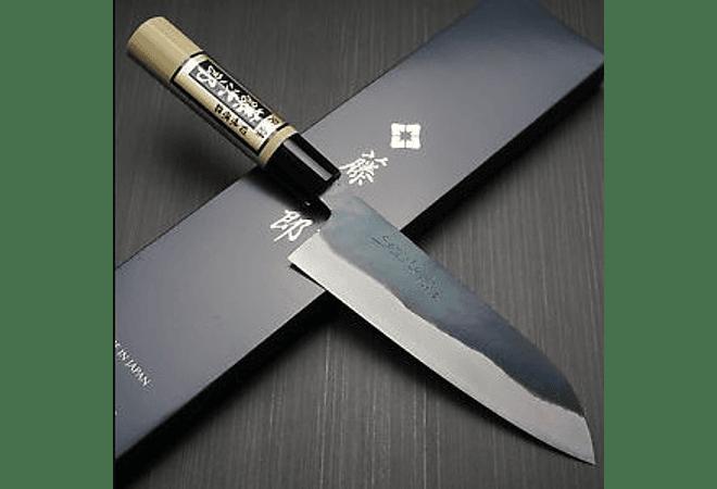 TOJIRO,  Black Finished, Santoku, 165 mm (F-698)
