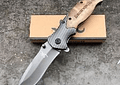 Browning X50, Tactical plegable, madera + fibra de carbono, hoja 8.6 cm