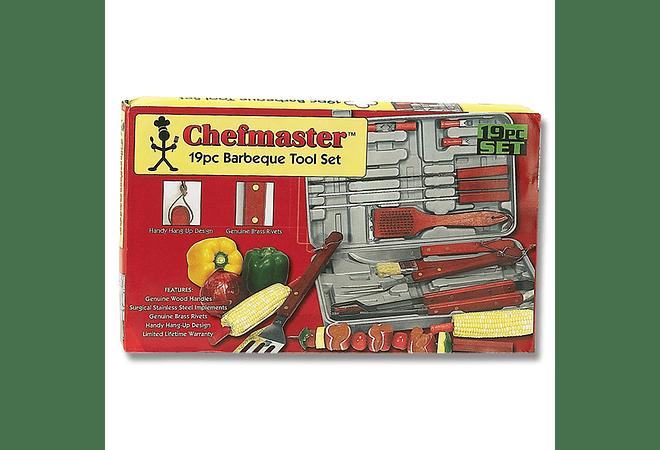 Chefmaster Set de Asado 19pz