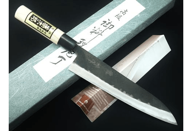 TOJIRO, black finished, CHEF knife, 240mm