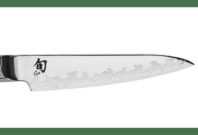 Shun Sora Paring Knife, Mango TPE Polymer, hoja 8.9 cms.