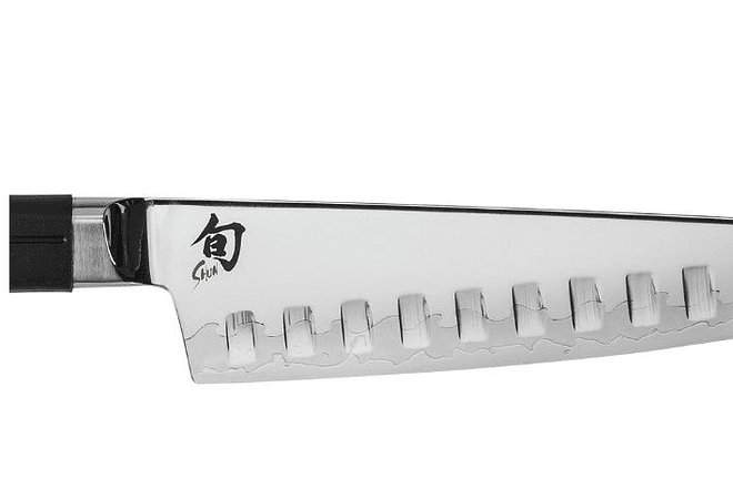 Shun Sora Santoku Knife, Mango TPE Polymer, hoja 17.8 cms.