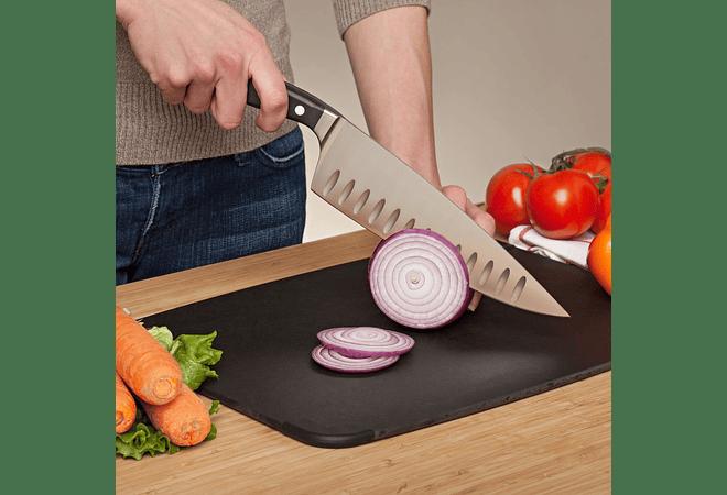 Ergo Chef Pro-Series (Model 1082) Chef Knife Filo Concavo, hoja 20.3 cms.