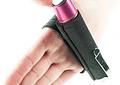 Smith & Wesson Baston Retractil Rosado largo abierto 30.7cm
